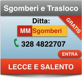 Impresa Sgomberi Appartamenti Cantine a Lecce e Provincia