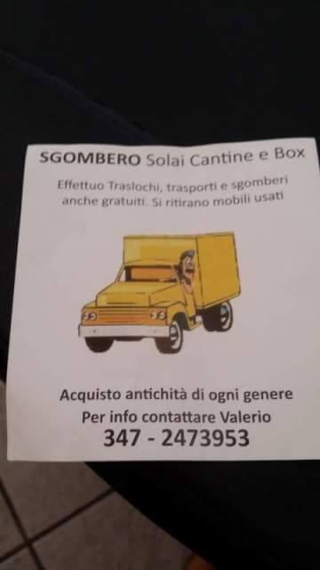 Milano annunci sgombero cantine gratis appartamenti case for Ritiro mobili usati milano