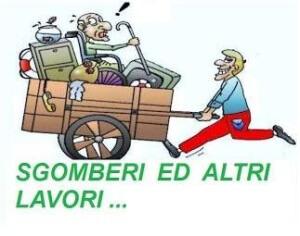 SGOMBERO GRATIS A CATANIA tel. 3420566489
