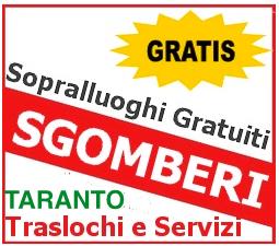 SGOMBERO CANTINE TARANTO