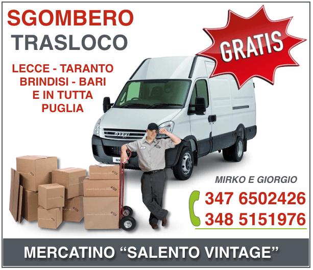 SGOMBERO GRATIS SALENTO VINTAGE