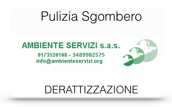 Sgombero Cantine ALBA (CN) - AMBIENTE SERVIZI SAS