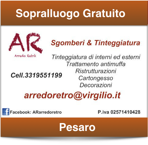 Sgomberi e Svuota Appartamenti Pesaro