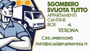 Sgombero Cantine VERONA (VR) - IMPRESA DI PULIZIE VERONA
