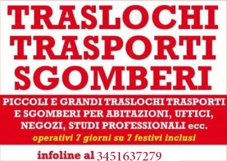 Sgombero locali e cantine Roma